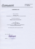 certificate Midland